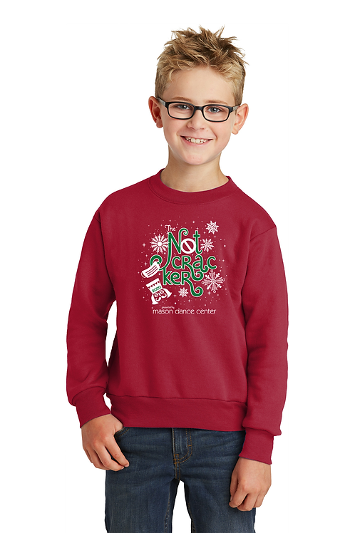 Notcracker Crew Sweatshirt, youth and adult