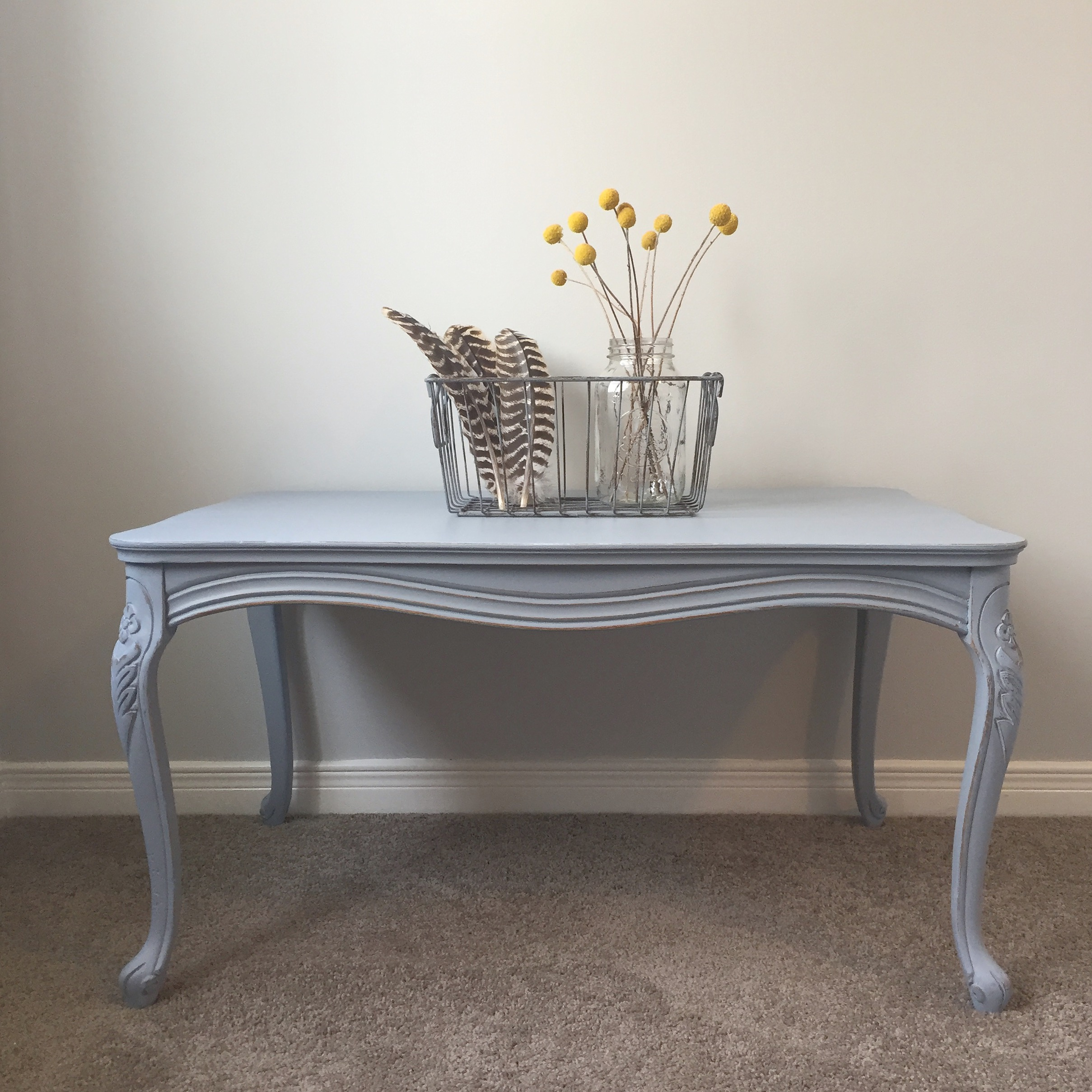 Curvy Grey Coffee Table