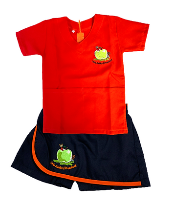 Orange Top & Skort