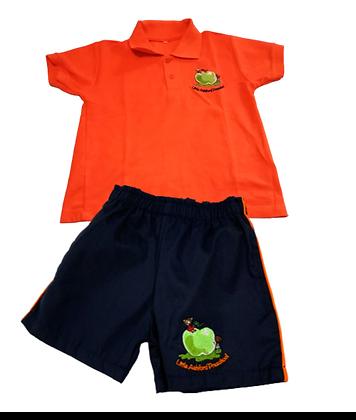Golf Shirt & Shorts