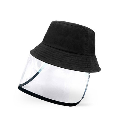 Hat With Removable Shield