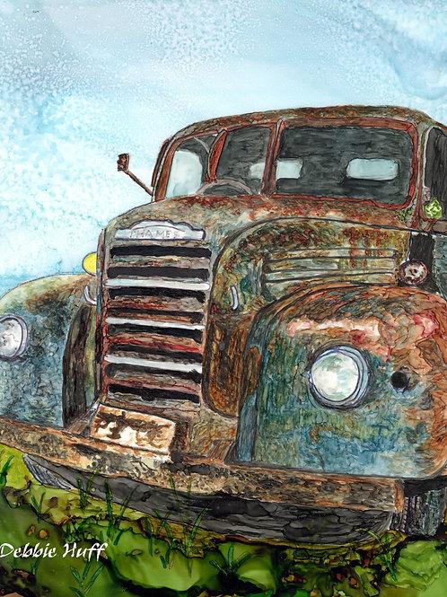 Grandpa's Truck-Print