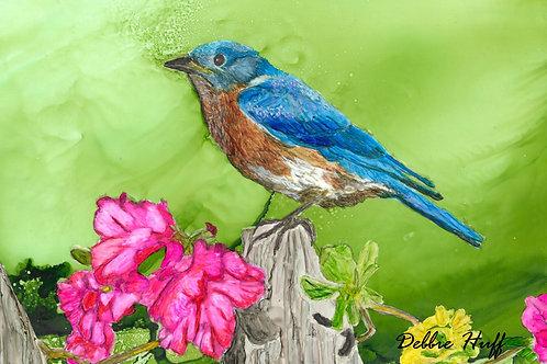 Blue Bird-Print