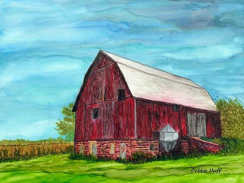 Red Barn-Print