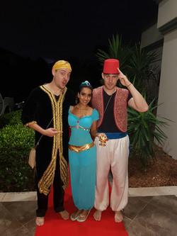 Did you say Aladdin Theme Wedding?!
