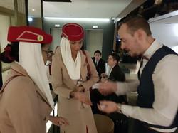 Flying Emirates!