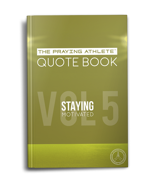 The Praying Athlete Quote Book Vol. 5