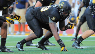 Appalachian State's Ronald Blair puts versatility on display for NFL scouts