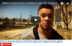 WMU's Asantay Brown ready to 'prove himself' with Super Bowl champion Eagles