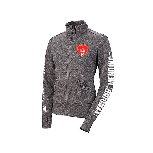 Mended Heart Women's Athletic Jacket