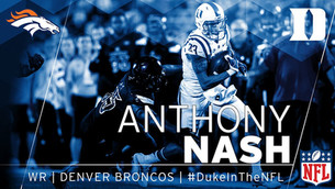 Nash Inks with Broncos as Undrafted Free Agent