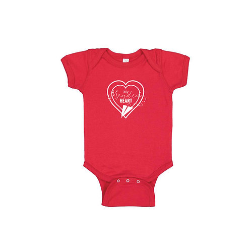 Infant Mended Heart Signature Onesie