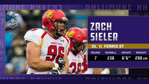 'A lot of waiting' for Zach Sieler, Baltimore Ravens draft pick from Pinckney and Ferris Sta