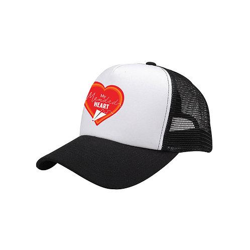 Mended Heart Trucker Hat
