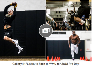 WMU football Pro Day: Franklin, Phillips and Brown among biggest winners