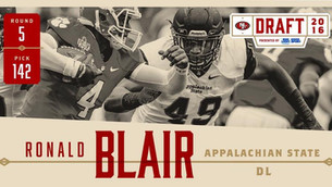 San Francisco 49ers Draft Appalachian State DL Ronald Blair