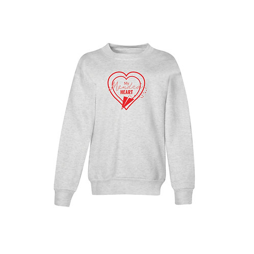 Youth Mended Heart Signature Crewneck