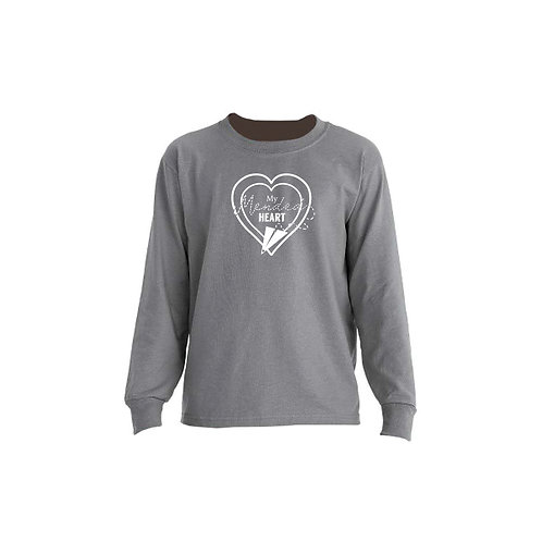 Youth Mended Heart Signature Long Sleeve Tee
