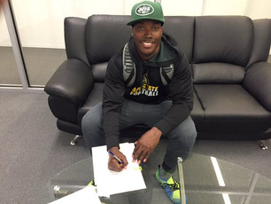 App State's Middleton signs with Jets