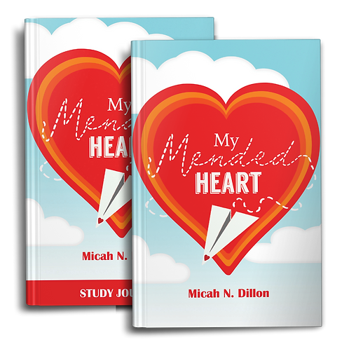 My Mended Heart Book & Study Journal
