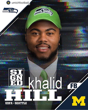 Michigan Football: Khalid Hill could find a home with the Seahawks