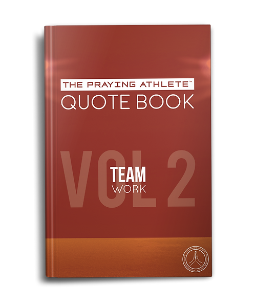 The Praying Athlete Quote Book Vol. 2