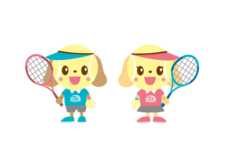 ワカヤマテニススクール オリジナルキャラクター作成
