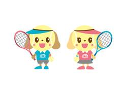 テニススクールオリジナルキャラクター