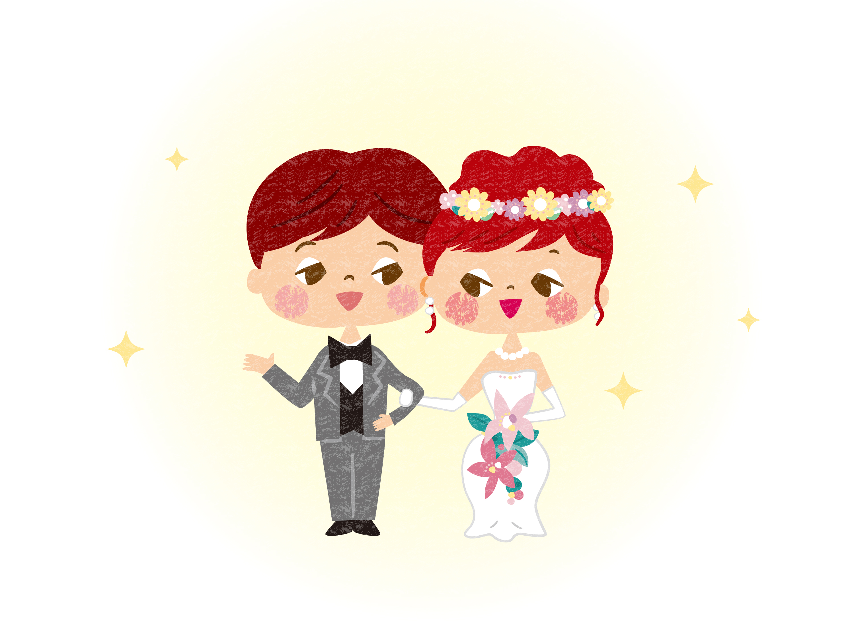 結婚式用イラスト