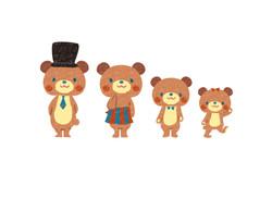 HOPPLシリーズ オリジナルキャラクター