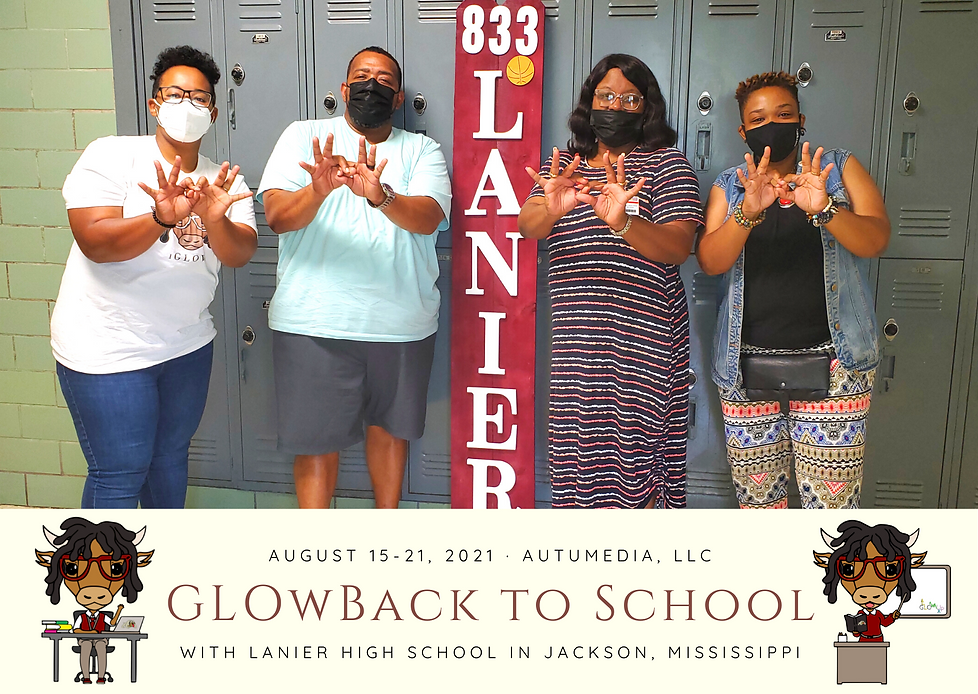 GLOwBack to School with Lanier High School Website Graphic.png