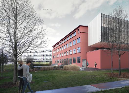 #architecturecompetition #architecture #dasbureau #4prize #neworder