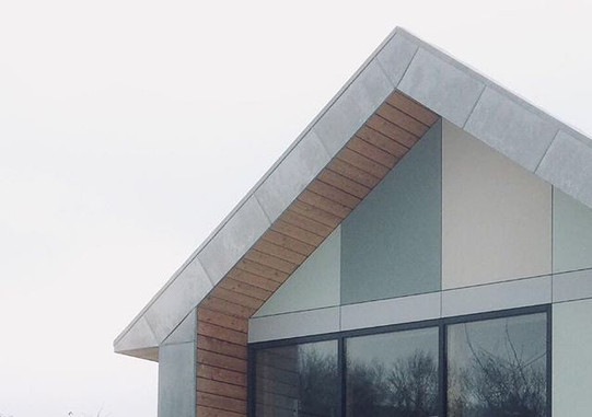 #architecture #house #fundermax #wood #meleze#architecturelovers #architect #green #facade