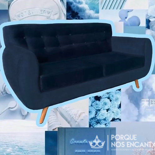 Sillón Ivo Azul