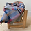 Thumbnail: Sky / British Made 100% Recycled Wool Throw