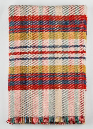 Cabin / British Made 100% Recycled Wool Throw