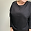 Thumbnail: BAT SLEEVE sweater black