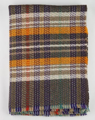 Driftwood / British Made 100% Recycled Wool Throw