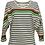 Thumbnail: BAT SLEEVE sweater multi colour stripe