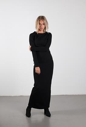 BODY CON DRESS black