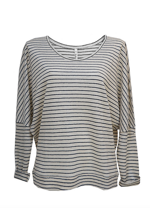 BAT SLEEVE TOP stripe