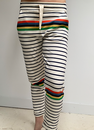 JOG sweat multi colour stripe