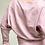 Thumbnail: BAT SLEEVE sweater pink melange