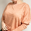 Thumbnail: BAT SLEEVE TOP orange/pink melange