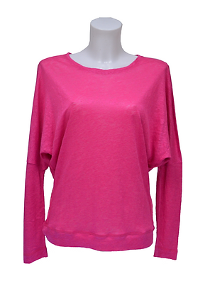 BAT SLEEVE TOP fuchsia