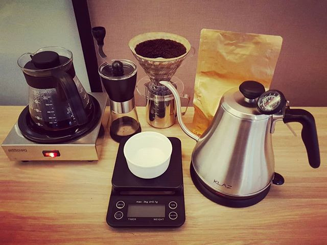 Preparation without coffee is nothing (a