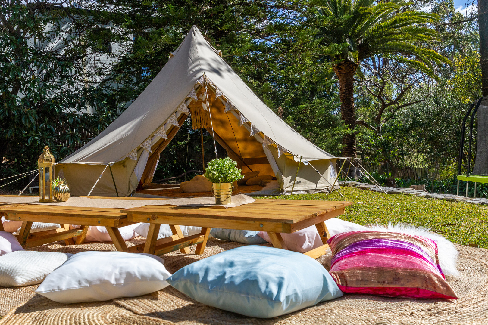 Picnic and Bell Tent Hire