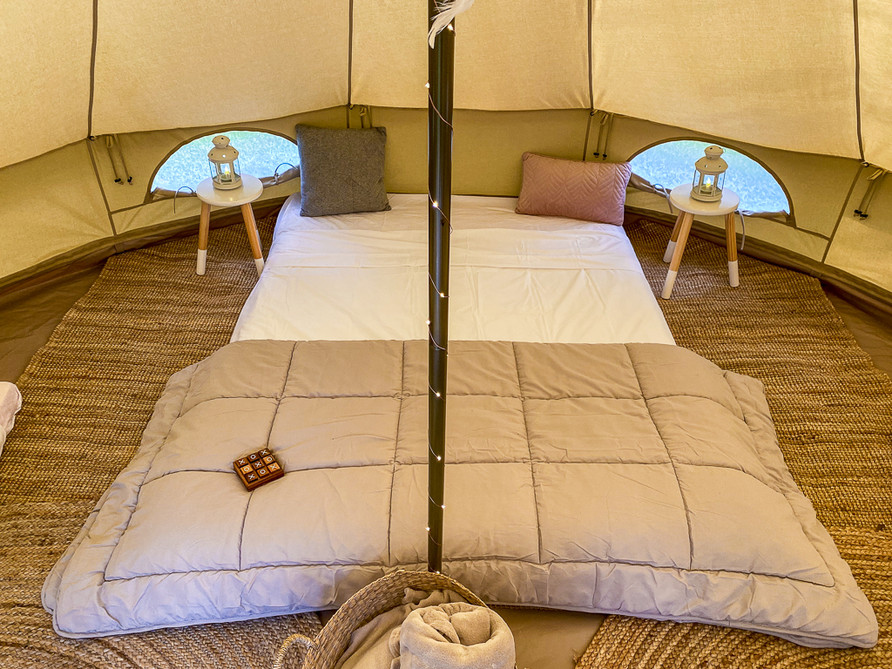 Family Campout Queen Bed