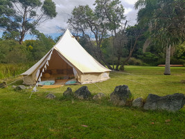 Bell Tent in the Bush