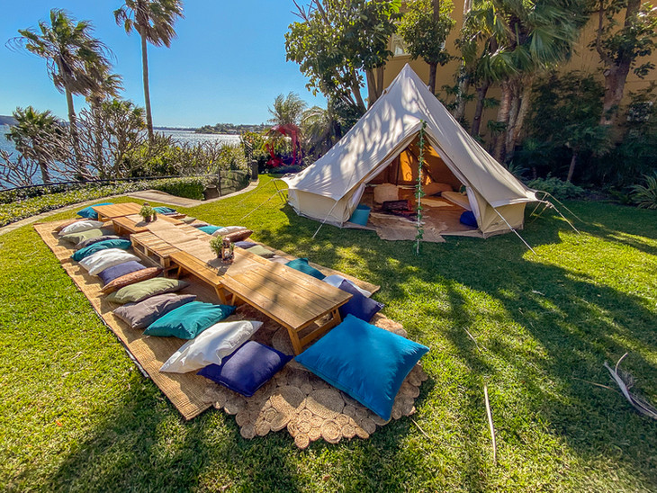 Picnic and Bell Tent Package